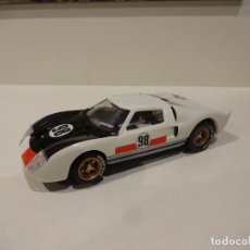 Scalextric: SCALEXTRIC. FORD GT BLANCO. PLANETA. Lote 269302543