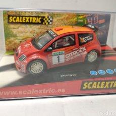 Scalextric: SCALEXTRIC CITROEN C2 JWRC TECNITOYS REF. 6166. Lote 269466628