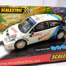 Scalextric: SCALEXTRIC FORD FOCUS WRC MONTECARLO TECNITOYS REF. 6147. Lote 269469103