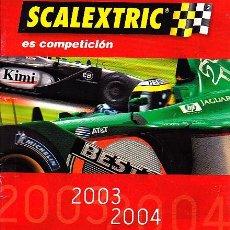 Scalextric: CATALOGO SCALEXTRIC. Lote 277053493