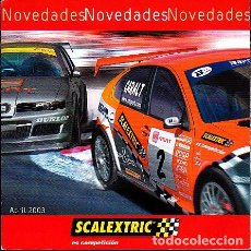 Scalextric: CATALOGO SCALEXTRIC. Lote 277053993