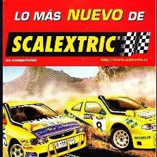 Scalextric: CATALOGO SCALEXTRIC. Lote 277054218