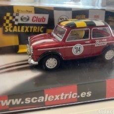 Scalextric: MINI COOPER CLUB SCALEXTRIC 2004. Lote 277119313