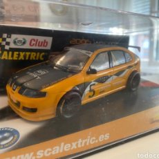 Scalextric: SEAT LEÓN CLUB SCALEXTRIC 2005. Lote 277119413