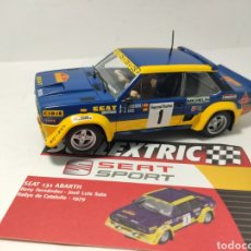 Scalextric: SCALEXTRIC SEAT 131 ABARTH ALTAYA COLECCIÓN SEAT SPORT. Lote 277282283