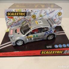 Scalextric: SCALEXTRIC. PEUGEOT 206 WRC. PANIZZI. REF. 6048. Lote 277466718