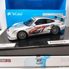 Scalextric: SCALEXTRIC PORSCHE 911 GT3 CUP LA CAIXA TECNITOYS REF. 6445. Lote 277474218
