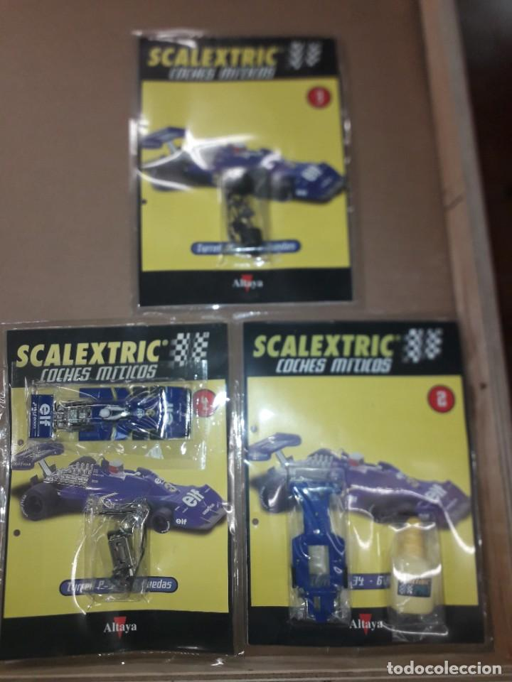 SCALEXTRIC TYRRELL P-34 COCHES MITICOS ALTAYA (Juguetes - Slot Cars - Scalextric Tecnitoys)