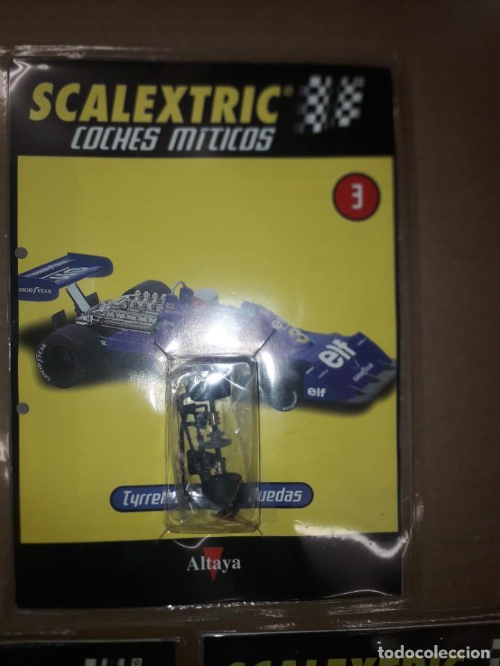 Scalextric: Scalextric tyrrell P-34 coches miticos Altaya - Foto 2 - 278369553