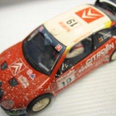 Scalextric: SCALCTRIC DE TECNITOYS CITROEN XARA T4 WRC. Lote 278373668