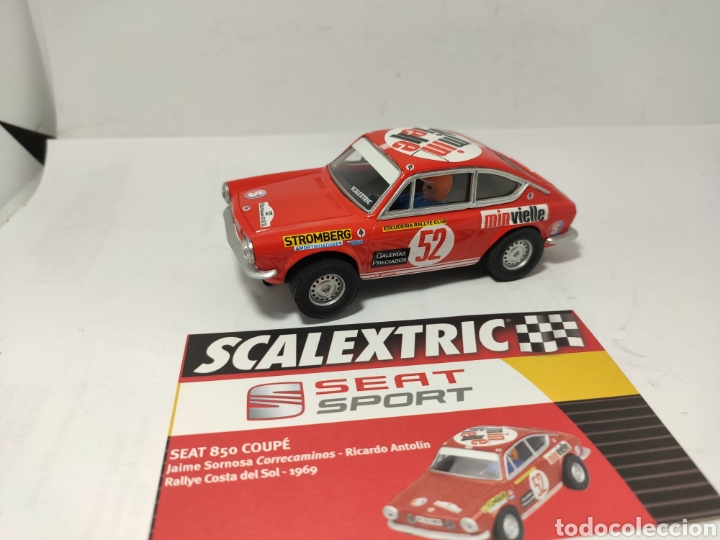 SCALEXTRIC SEAT 850 COUPE ALTAYA SEAT SPORT (Juguetes - Slot Cars - Scalextric Tecnitoys)