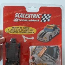 Scalextric: COCHE CAR SCALEXTRIC CONSTRUBLOCK SAFETY CAR REF 3601 MONTA TU PROPIO SLOT TECNOTOYS. Lote 278600538