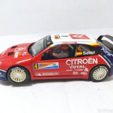 Scalextric: SCALEXTRIC CITROEN XSARA T4 WRC CARLOS SAINZ ALTAYA. Lote 278624523