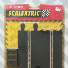 Scalextric: PISTA DE CONEXIONES, SCALEXTRIC - TECNI TOYS, RF.8424 - EN BLISTER - PJRB. Lote 279333218