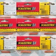 Scalextric: 9 BOLSAS DE 4 TRENCILLAS SCALEXTRIC - TECNITOYS REF. 8614 - EN BLISTER SIN ESTRENAR - PJRB. Lote 295509523