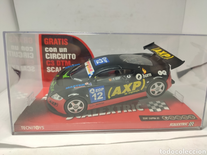 SCALEXTRIC SEAT CUPRA XBOX TECNITOYS REF. 6239 (Juguetes - Slot Cars - Scalextric Tecnitoys)
