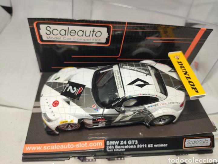 Scalextric: SCALEAUTO BMW Z4 GT3 24H BARCELONA 2011 N°2 REF. SC-6020 - Foto 3 - 287648073