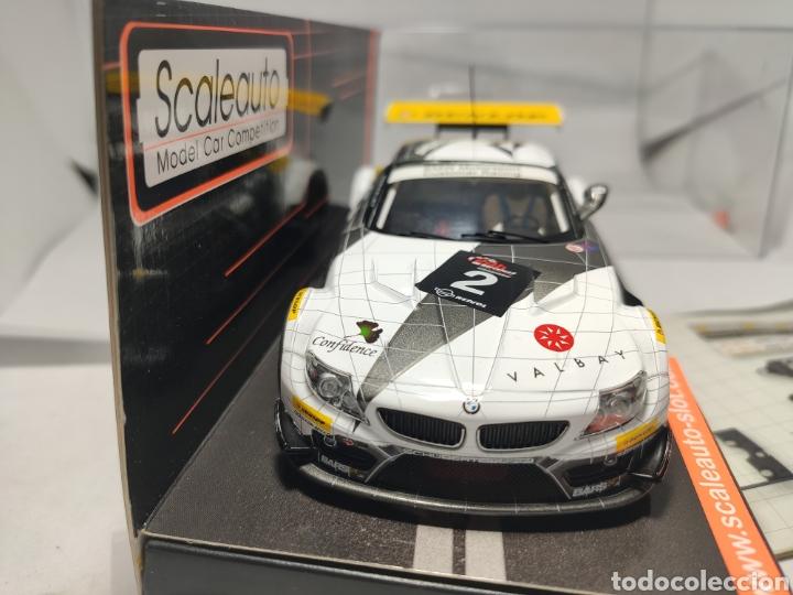 Scalextric: SCALEAUTO BMW Z4 GT3 24H BARCELONA 2011 N°2 REF. SC-6020 - Foto 4 - 287648073