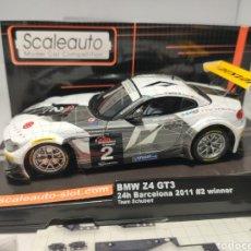 Scalextric: SCALEAUTO BMW Z4 GT3 24H BARCELONA 2011 N°2 REF. SC-6020. Lote 287648073