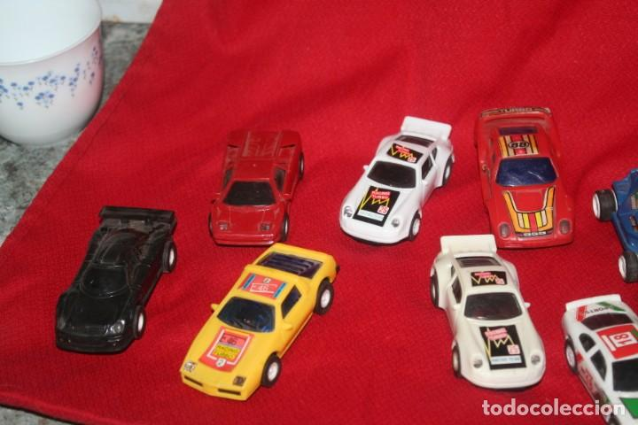 Scalextric: lote de coches de scalextric o similar algunos son antiguos - Foto 2 - 287665923