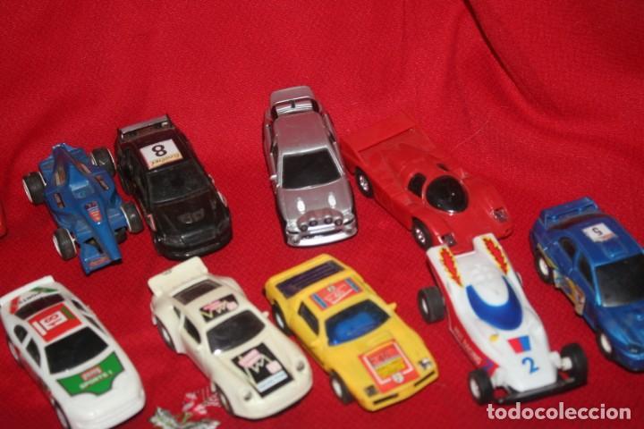 Scalextric: lote de coches de scalextric o similar algunos son antiguos - Foto 4 - 287665923