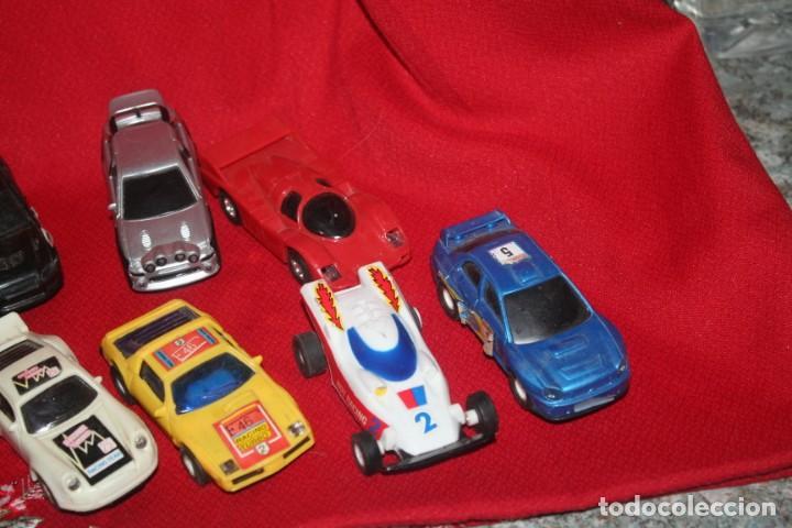 Scalextric: lote de coches de scalextric o similar algunos son antiguos - Foto 5 - 287665923