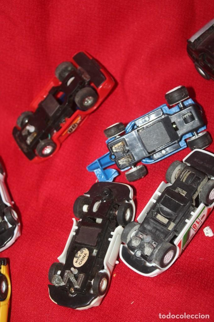 Scalextric: lote de coches de scalextric o similar algunos son antiguos - Foto 9 - 287665923