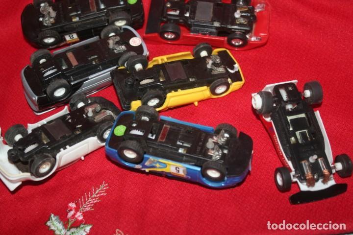Scalextric: lote de coches de scalextric o similar algunos son antiguos - Foto 12 - 287665923