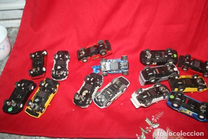 Scalextric: lote de coches de scalextric o similar algunos son antiguos - Foto 13 - 287665923
