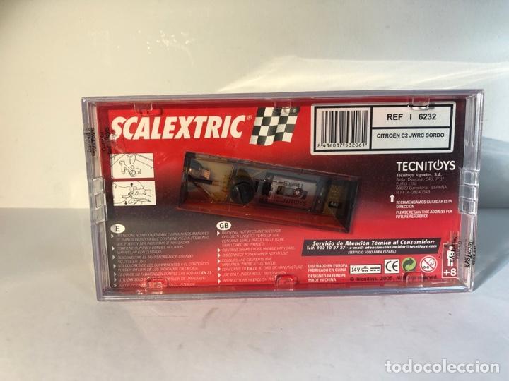 Scalextric: Citroen C2 JWRC sordo blanco n 41 scalextric tecnitoys scx ref.6232 - Foto 7 - 287740478