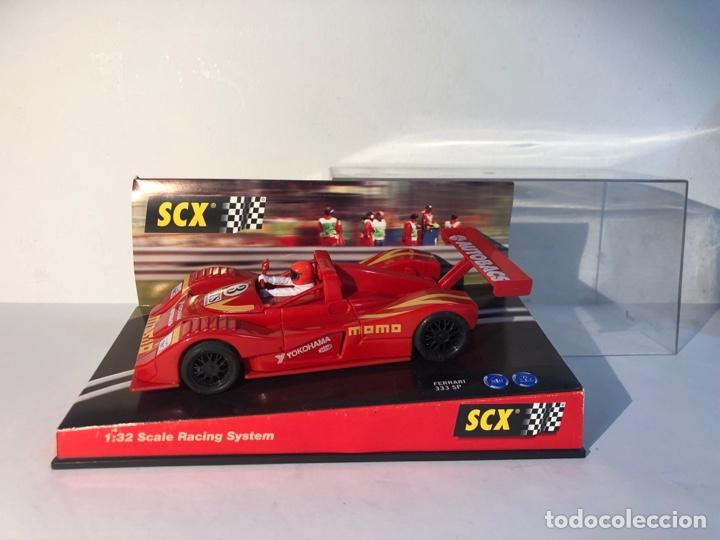Scalextric: Ferrari 333 SP rojo n3 momo scalextric tecnitoys scx ref.6003 - Foto 7 - 287741288