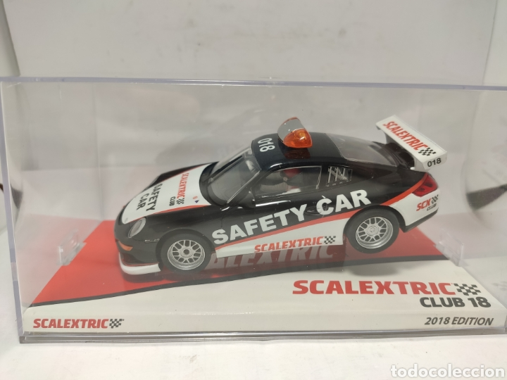 SCALEXTRIC PORSCHE 911 GT3 SAFETY CAR CLUB SCALEXTRIC 2018 (Juguetes - Slot Cars - Scalextric Tecnitoys)
