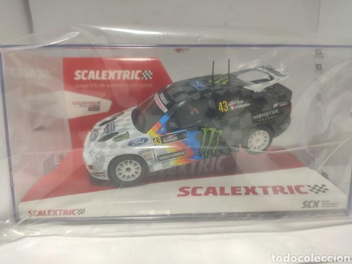 SCALEXTRIC FORD ESCORT COSWORTH BLOCK SCX REF. U10397S300 (Juguetes - Slot Cars - Scalextric Tecnitoys)