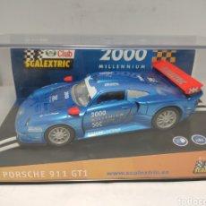 Scalextric: SCALEXTRIC PORSCHE 911 GT1 CLUB SCALEXTRIC 2000 MILENIUM REF. 6043. Lote 288029373