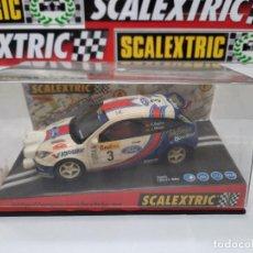 "Scalextric: SCALEXTRIC FORD FOCUS WRC "" MONTECARLO 2001 "" CON LUCES DESCRIPCION!!. Lote 288602543"