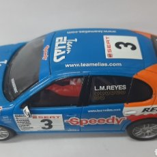 Scalextric: SEAT LEON L.M.REYES SCALEXTRIC TECNITOYS. Lote 288863233