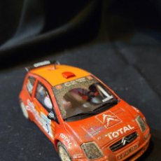 Scalextric: COCHE SCALEXTRIC CITROËN C2 RALLY. Lote 291572703