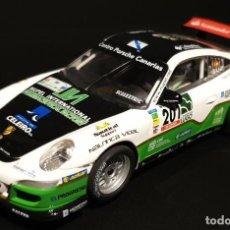 Scalextric: SCALEXTRIC PORSCHE 911 GT3 CLUB USADO EN BUEN ESTADO VALLEJO EL ALERON SE MUEVE ESTA BIEN. Lote 293305663
