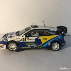 Scalextric: FORD FOCUS WRC BLANCO N4 SCALEXTRIC TECNITOYS SCX. Lote 293803223