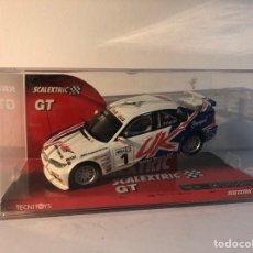 Scalextric: BMW 320I WTCC BLANCO N1 SCALEXTRIC GT TECNITOYS SCX REF.6312. Lote 293804018