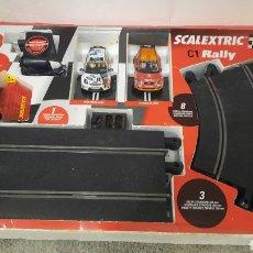 Scalextric: SCX RALLY C1 COMPLETO TECNITOYS.. Lote 294490718