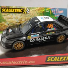 Scalextric: SCALEXTRIC SUBARU IMPREZA WRC ROSSI TECNITOYS N°46. Lote 294950328