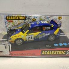 Scalextric: SCALEXTRIC SEAT CÓRDOBA WRC TELEFÓNICA MOVISTAR CAÑELLAS. Lote 295849978
