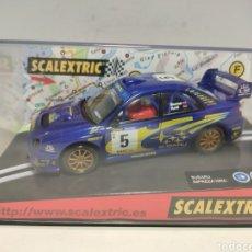 Scalextric: SCALEXTRIC SUBARU IMPREZA WRC COSTA BRAVA 2001 REF. 6079. Lote 296002803