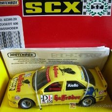 Scalextric: SCALEXTRIC TYCO 83380 PEUGEOT 406 SRS2 HASSRODER . Lote 4395596