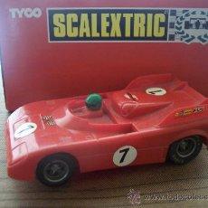 Scalextric: ALFA ROMEO TT SCALEXTRIC. IMPECABLE ESTADO Y FUNCIONAMIENTO. NO VENDIDO ES ESPAÑA. IMPORTACION.. Lote 26763008