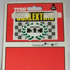 Scalextric: SCALEXTRIC - ACCESORIOS ORIGINALES - TYCO MATCHBOX - EJES TRASEROS PORSCHE 959. Lote 26376181