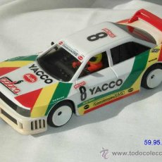 "Scalextric: AUDI 90 GT ""YACCO"" REF. 8363, BLANCO SCX FABRICADO POR TYCO SCX. Lote 16643151"