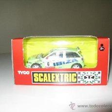 Scalextric: SEAT IBIZA REPSOL DE TYCO SCALEXTRIC. Lote 27896370