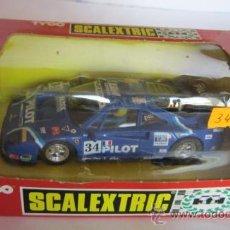 Scalextric: SCALEXTRIC TYCO, FERRARI F40, EN CAJA. CC. Lote 32378270